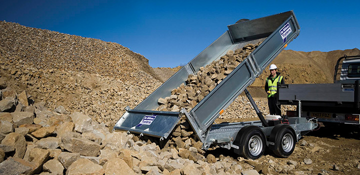 Tipper Ifor Williams Trailer